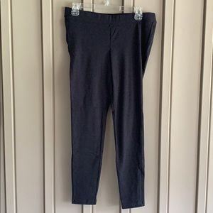 Old Navy Front Low Panel Gray Maternity Leggings size Medium